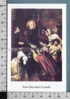 Xsb913 SAN GIOVANNI GRANDE CARMONA Santino Holy Card - Religione & Esoterismo