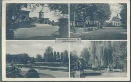 Ak Ludwigshafen, 4 Ansichten Vom Hindenburgpark - Ludwigshafen