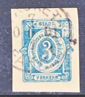 Germany Private Post  BERLINER Cut Square  KARTE 3 - Private