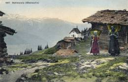 Bettmeralp Oberwallis 1905 Postcard - VS Valais