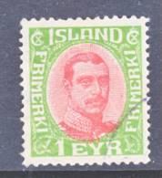 Iceland 108  (o) - 1873-1918 Danish Dependence