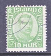 Iceland 116  (o) - 1873-1918 Danish Dependence