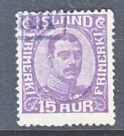 Iceland 117  (o) - 1873-1918 Danish Dependence