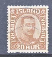 Iceland 119  (o) - 1873-1918 Danish Dependence