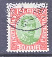 Iceland 122  (o) - 1873-1918 Danish Dependence