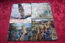 SUR LE BANC   JANE SOURZA & RAYMOND SOUPLEX  °  COLLECTION DE 4 / 45 TOURS - Vollständige Sammlungen