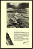 Reklame  -  Chantre   -  Triumph Der Weichen Welle  -  Werbeanzeige Von 1956 - Alkohol