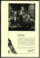 Reklame  -  Chantre   -  Weiche Welle In Aller Munde  -  Werbeanzeige Von 1956 - Alkohol