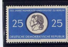 DDR, 1966,  MNH, # 523, WILHEIM & ALEX. Von HUMBOLDT Medal - [6] République Démocratique