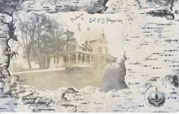 PROCTOR, VT. Real Photo  Gov. F.D. Proctor's House 1907 - United States