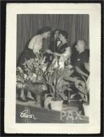 HERMÍNIA SILVA Em 22.08.1955 - FADO - REVISTA - SINGER - ACTRESS - PORTUGAL - 17,5x23,6 - See Description - Célébrités