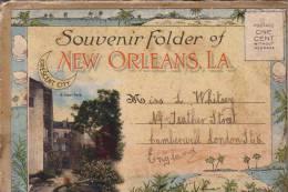 Souvenir Of New Orléans.  22 Views. - New Orleans