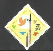 INDIA, 2000, Defence Research And Development Organization, Agni II Missile, MNH, (**) - Nuovi