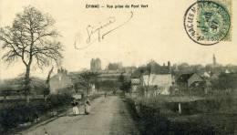 EPINAC - SAÔNE ET LOIRE  (71) - PEU COURANTE CPA ANIMEE. - Chagny