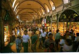 TURQUIE ISTANBUL  INTERIEUR GRAND BAZAR ANIMATION - Turchia