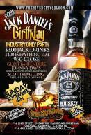 Art Print Reproduction On Original Painting Canvas, New Picture, Jack Daniel's Birthday, Placard - Programs