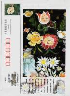 Little Ida's Flower,China 2005 Birth Bicentenary Of Denmark Fairy Tales Master Hans Christian Andersen Pre-stamped Card - Fairy Tales, Popular Stories & Legends
