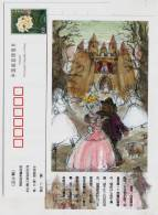 The Swineherd,China 2005 Birth Bicentenary Of Denmark Fairy Tales Master Hans Christian Andersen Pre-stamped Card - Fairy Tales, Popular Stories & Legends