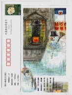 The Snow Man,CN 05 Birth Bicentenary Of Denmark Fairy Tales Master Hans Christian Andersen Pre-stamped Card - Fairy Tales, Popular Stories & Legends
