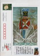 The Steadfast Tin Soldier,CN 05 Birth Bicentenary Of Denmark Fairy Tales Master H. C. Andersen Pre-stamped Card - Fairy Tales, Popular Stories & Legends