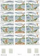 SPM N° 509 A Ile Aux Marins -triptyque Avec Vignette Centrale NEUF** X4 Daté 22.8.89 - St.Pierre & Miquelon