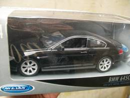WELLY -  BMW 645 COUPE´  AVEC  SA  BOITE  Scala 1/24 - Welly