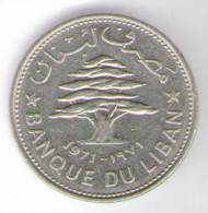 LIBANO 50 PIASTRES 1971 - Libano