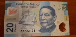 20 PESOS Banknote MEXICO - 2007 E - Benito Juárez - Monte Albán - Pick 122  VF - Mexico