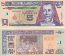 Guatemala - 5 Quetzales 2008 UNC - Guatemala