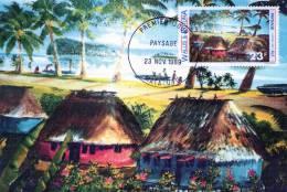 Carte En 1° Jour  ((  Paysage )) - Wallis-Et-Futuna
