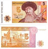 KAZAKISTAN 5 Tenge 1993 UNC - Kazachstan