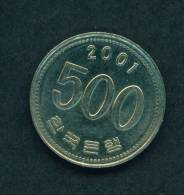 SOUTH KOREA - 2001 500w Circ. - Korea, South