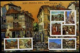 ERINNOFILI - MILANO - XXV FESTA DEL NAVIGLIO - ARTE / PITTURA  - E/E - Erinnofilia