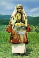 Folklore - Macédoine - Costume National De Galicnik - Femme - Yugoslavia
