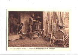 SCÈNES DE SAVOIE - Cidrerie Aux Environs De Thorens. (Thorens-Glières, Cidre, Métier) - Thorens-Glières