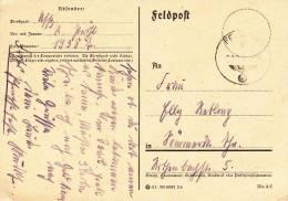 Feldpost WW2: Infanterie-Regiment 511 In Brandenburg FP 14387 Dtd 11.5.1940 - Plain Postcard (C1) - Militaria