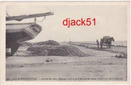 85 - ILE DE NOIRMOUTIER - Sortie Du Goa (Gois); Passage Qui, à Grande Marée Basse, Relie L'ile Au Continent - Ile De Noirmoutier