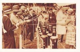 Postcard Fishing For Bottles LONDON Botanic Gardens 1927 Fund Raising Nostalgia - Fairs