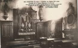 CHENOISE - Intérieur De L'Église - Chapelle De La Vierge - Otros Municipios