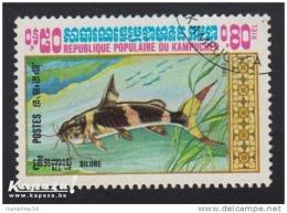 1983 - KAMPUCHEA - Y&T 428 - Pseudomystus Siamensis - Kampuchea