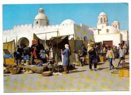 """El Oued, """"ville Aux Mille Coupoles"""", Le Souk, Belle Animation, N° 2707 - El-Oued"""