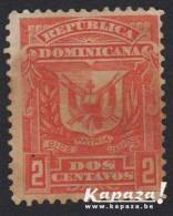 1885 - REPUBLICA DOMINICANA - SG 78 (*/MH) - Coat Of Arms/Armoiries - Dominicaine (République)