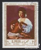 1968 - AJMAN - Y&T 26 [PA] - Michelangelo Merisi Da Caravaggio - Ajman