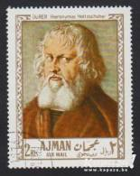 1968 - AJMAN - Y&T 26 - Albrecht Dürer (1471-1528) - Hieronymus Holtzschuher (1526) - Ajman