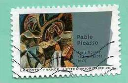 FRANCE 2012 - Y&T N° A 702 : PEINTURE DU XXè SIECLE - CUBISME : PABLO PICASSO : Trois Figures Sous Un Arbre - Used Stamps