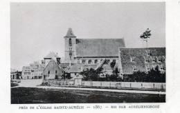 Le Strasbourg Disparu. (( Près De L'église Sainte-Aurélie 1867. - Strasbourg