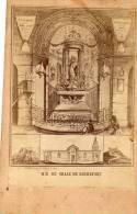 ROCHEFORT DU GARD - Illustré P MAUCOUDEL Notre Dame De Grace Collée Cartonnage Fantaisie - Rochefort-du-Gard