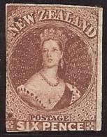NUEVA ZELANDA 1858/59 - Yvert #10 - Mint No Gum (*) - 1855-1907 Colonia Británica