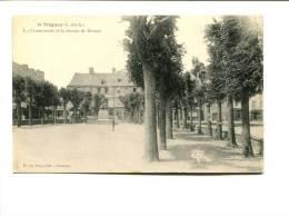CP -  TREGUIER (22) La Promenade Et La Statue De Renan - France