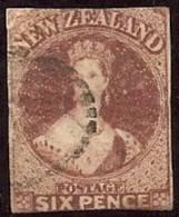 NUEVA ZELANDA 1858/59 - Yvert #10 - Precio Cat. €425 - 1855-1907 Crown Colony